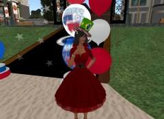 Talee at the NCI 4th July Party