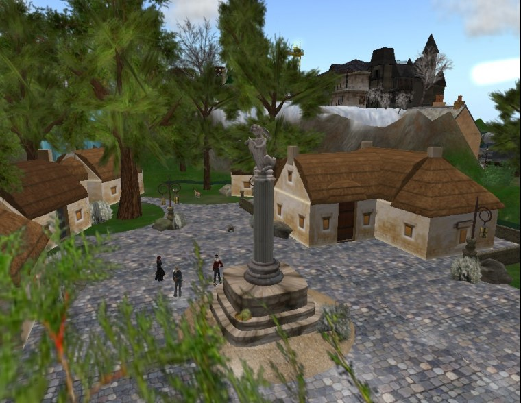 Brigadoon, a village which appears only once in a month