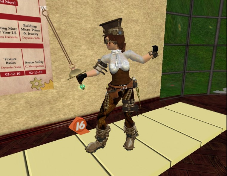 Caledon Games 2010 - Fencing Tournament Stereo Nacht