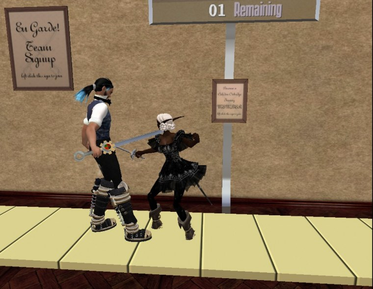 Caledon Games 2010 - Fencing Tournament ZenMondo Wormser & Darlingmonster Ember Final Match